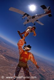 skysurf team PULSE skydive Arizona