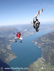 freefly coaching jump by Oliver Furrer