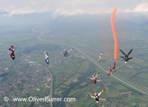freefly event skydive Hohenems 2008