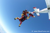 skydive freefly team training exit plane parachute