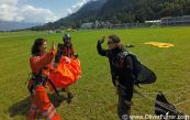 Helicopter Skydive jump over Interlaken