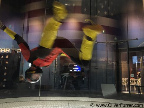 iFly Oceanside outface flying