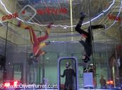 indoor skydive, head down, freefly, fun, wind tunnel