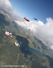 Wingsuit Work-Shop flock dive