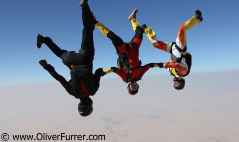 Skydive Dubai Winter Festival freefly