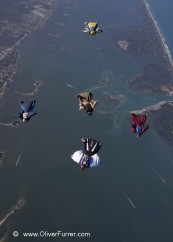 wingsuit big way formation Florida